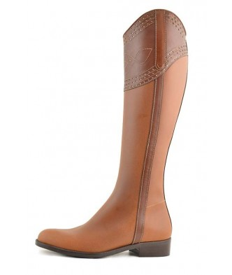 CARTHUSIAN BOOTS PERFORATED...